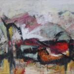 80 x 100 cm; Acryl/Leinwand