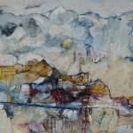 100 x 120 cm; Acryl/leinwand
