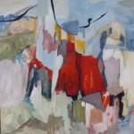 100 x 100 cm; Acrl/Leinwand