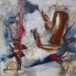 100 x 100 cm; Acryl/Leinwand